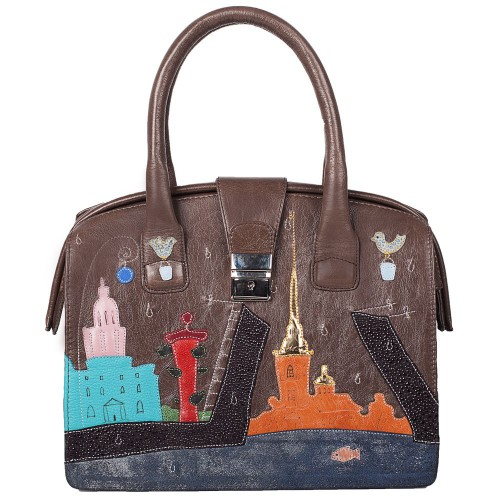 "Handbag ""Saint Petersburg (middle-sized)"""