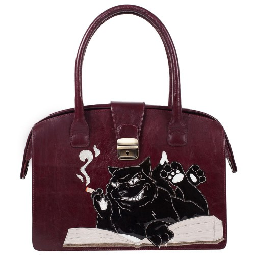 "Handbag ""Cat-Behemoth"" (big)"