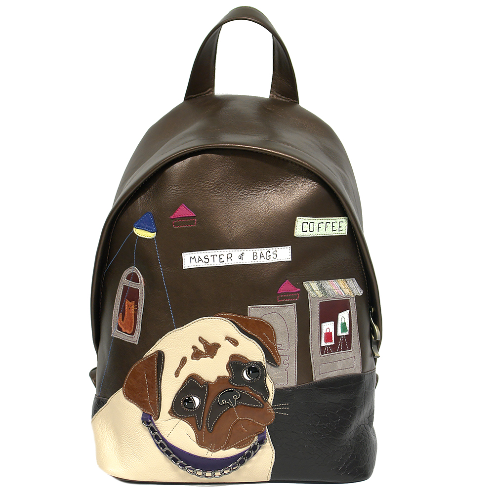 Pug backpack 2