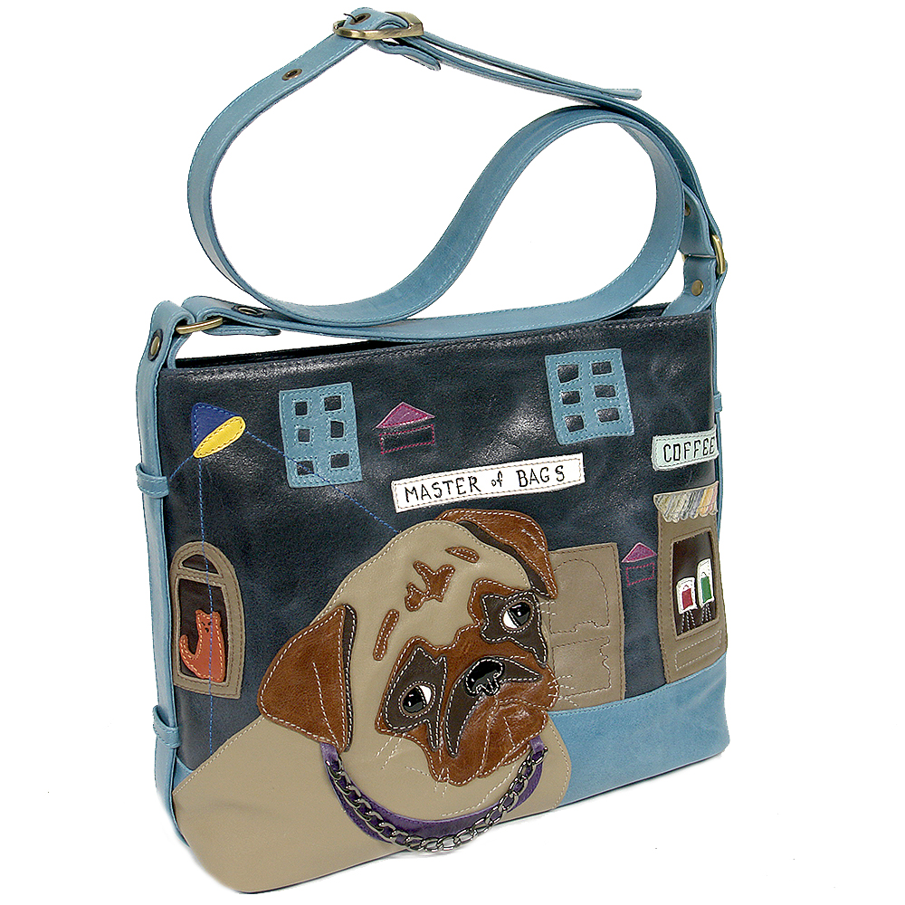 "Crossbodi bag ""Pug"""