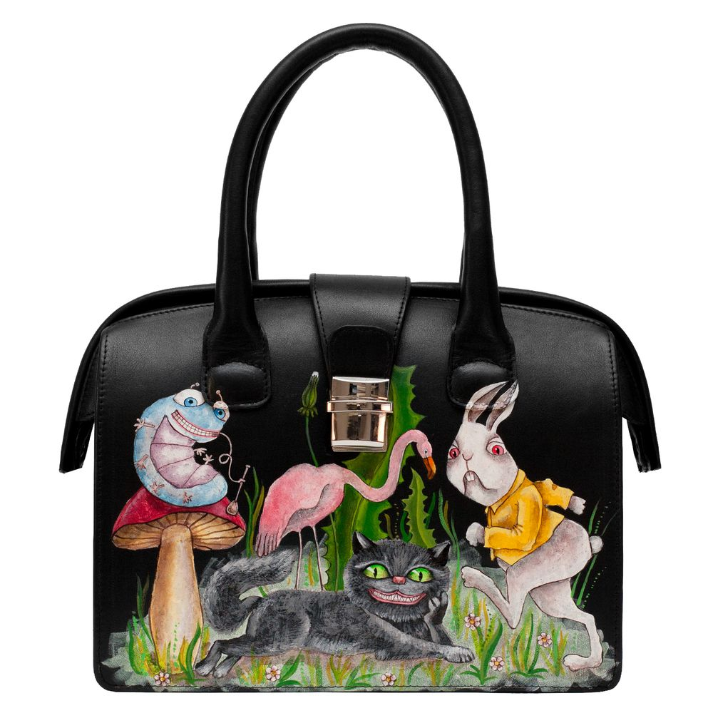 "Handbag ""Wonderland"" (middle-sized)"