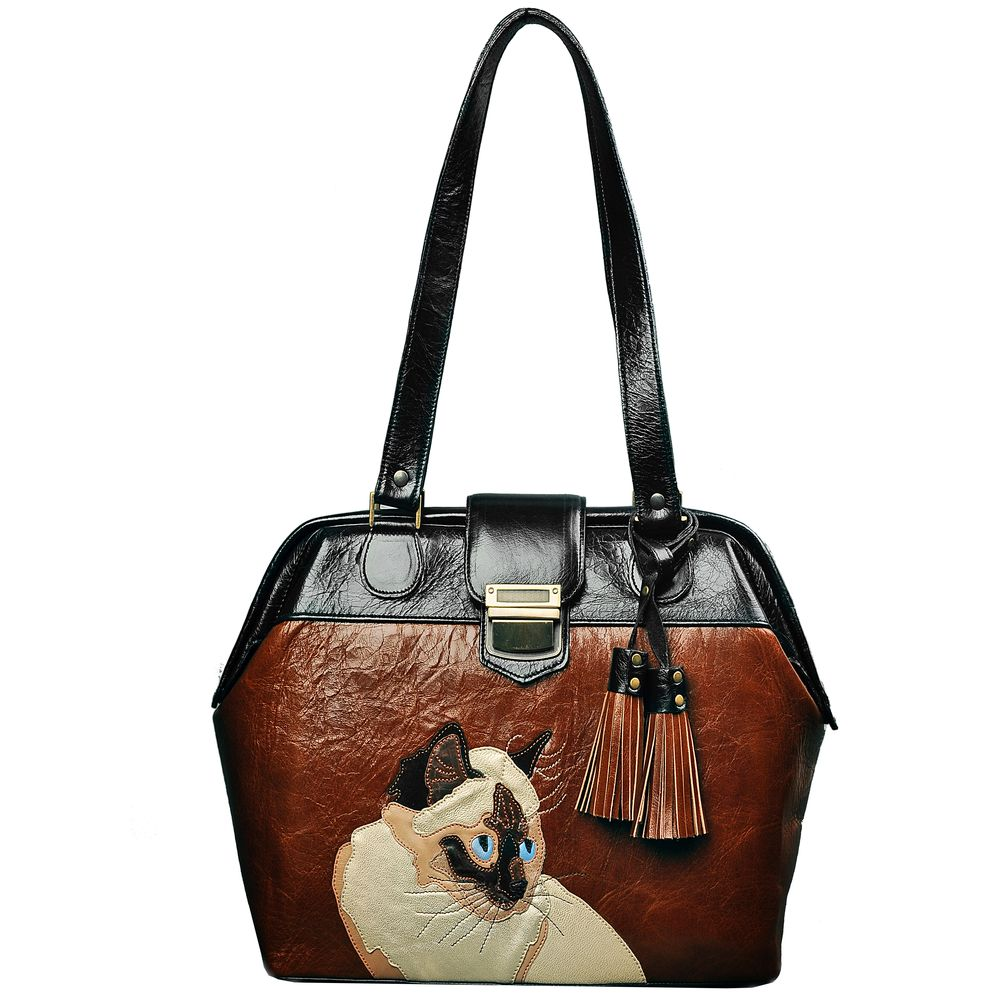 "Handbag ""Siamese cat mini"""