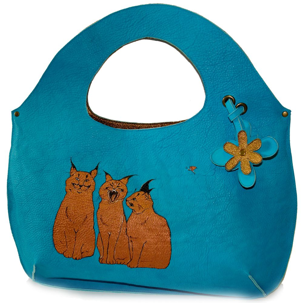 "Shopper bag ""Lynxes"""