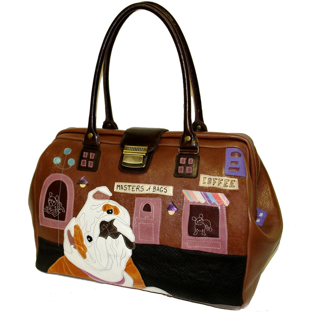 "Handbag ""Cute bulldogs"""