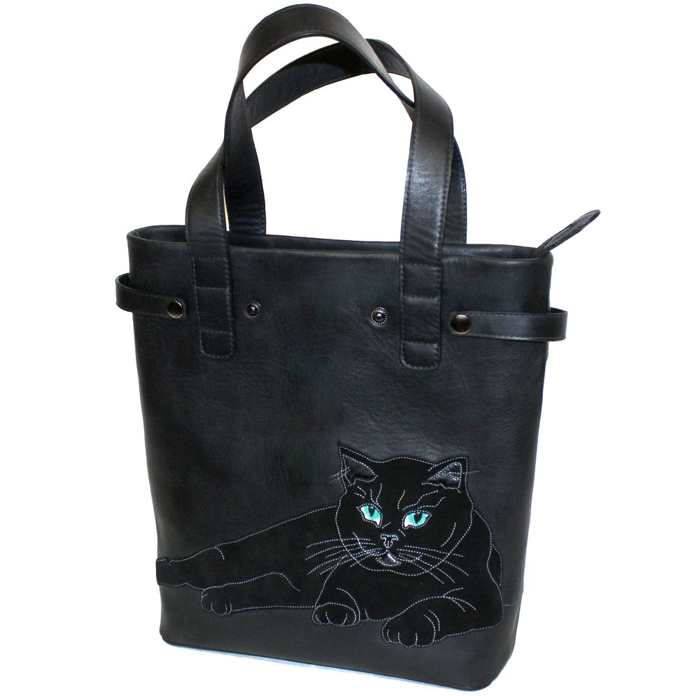 "Shopper bag ""Green Eyes"""
