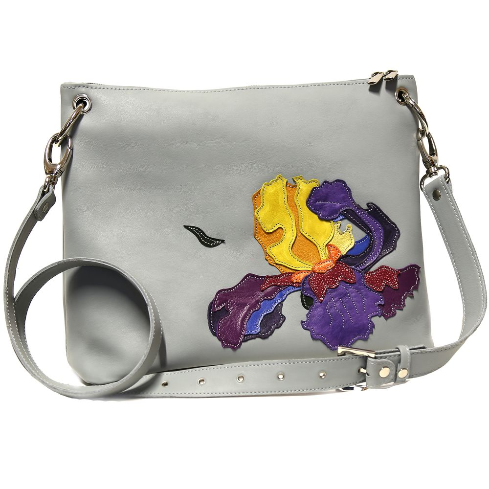 "Bag ""Double-flowered iris 2"""