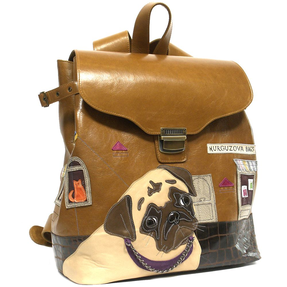 "Backpack ""Pugdog"""