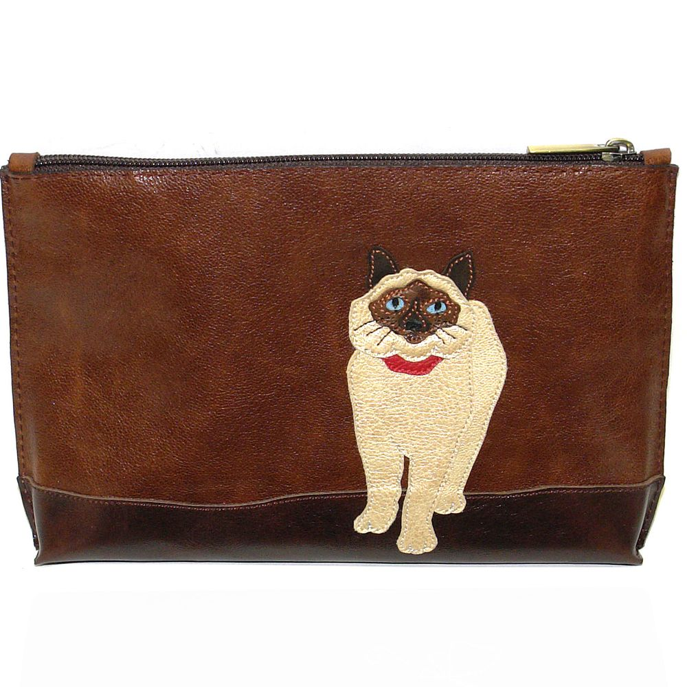 "Cosmetic bag ""Siamese cat"""