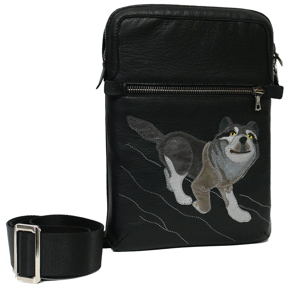 "Mini-bag ""Merry wolf"""
